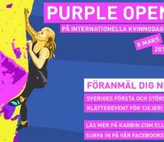 Purple Open